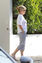 Selena Gomez Casual Style - at Cecconi