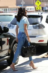 Selena Gomez in Jeans - Out in Los Angeles - June 2014