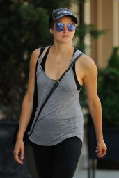 Shailene Woodley In Tights - Out in New York City - June 2014