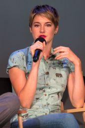 Shailene Woodley - Promoting