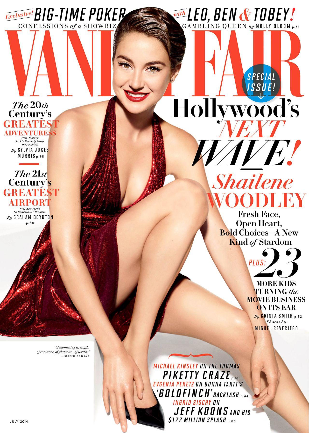 Shailene Woodley U2013 Vanity Fair Magazine July 2014 Issue