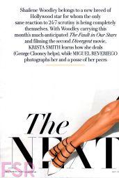 Shailene Woodley - Vanity Fair Magazine July 2014 Issue