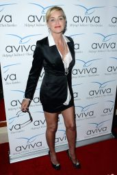 Sharon Stone at 2014 Aviva Gala in Los Angeles
