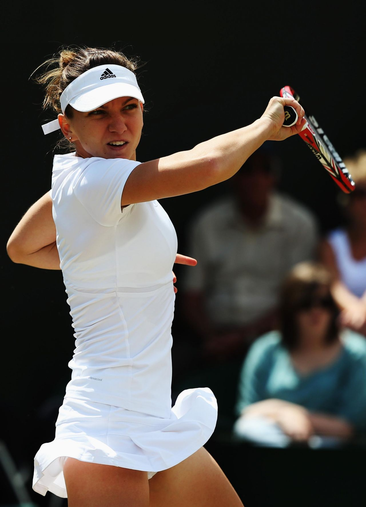 Simona Halep Wimbledon Tennis Championships 2014 3rd Round
