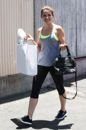 Sophia Bush in Leggings - Out in Los Angeles - June 2014