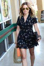 Sophia Bush Leggy - Out in Beverly Hills - June 2014