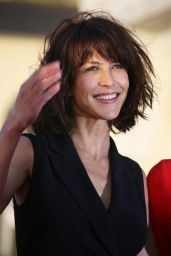 Sophie Marceau on Red Carpet - 28th Cabourg Film Festival in Cabourg (France)