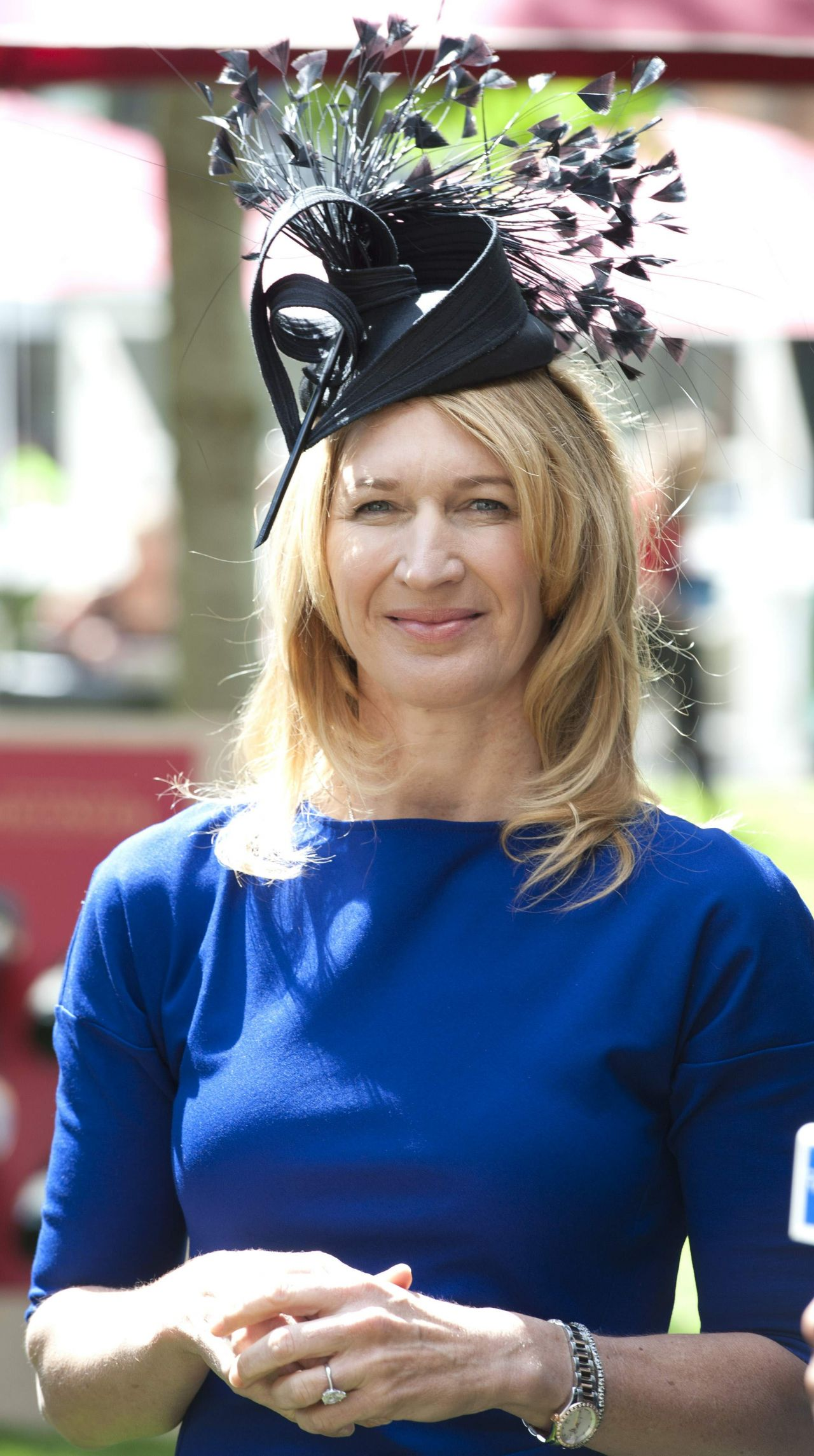 Graf Attends Day 1 of Royal Ascot at Ascot Racecourse June 2014