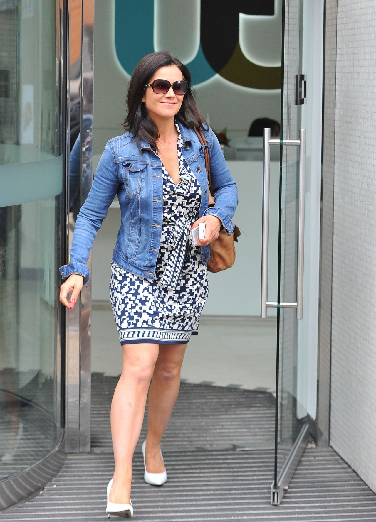 Susanna Reid Leaving The Itv Studios In London June 2014
