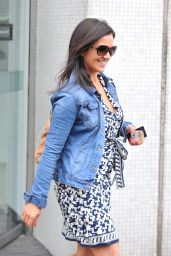 Susanna Reid Leaving the ITV studios in London - June 2014