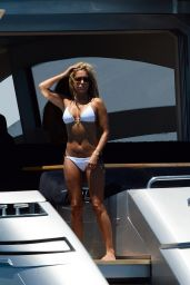 Sylvie van der Vaart Bikini Photos - on a Yacht in Formentera - June 2014
