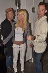 Tara Reid Night Out Style- West Hollywood Bar, June 2014