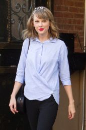 Taylor Swift Casual Style - Out in NYC - June 2014