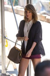 Taylor Swift - Leggy in Shorts Out in NYC - June 2014