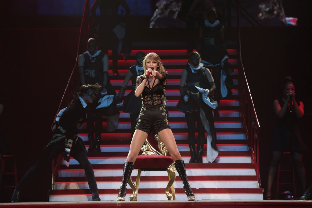 Taylor Swift Performs At Red Tour In Tokyo June 2014