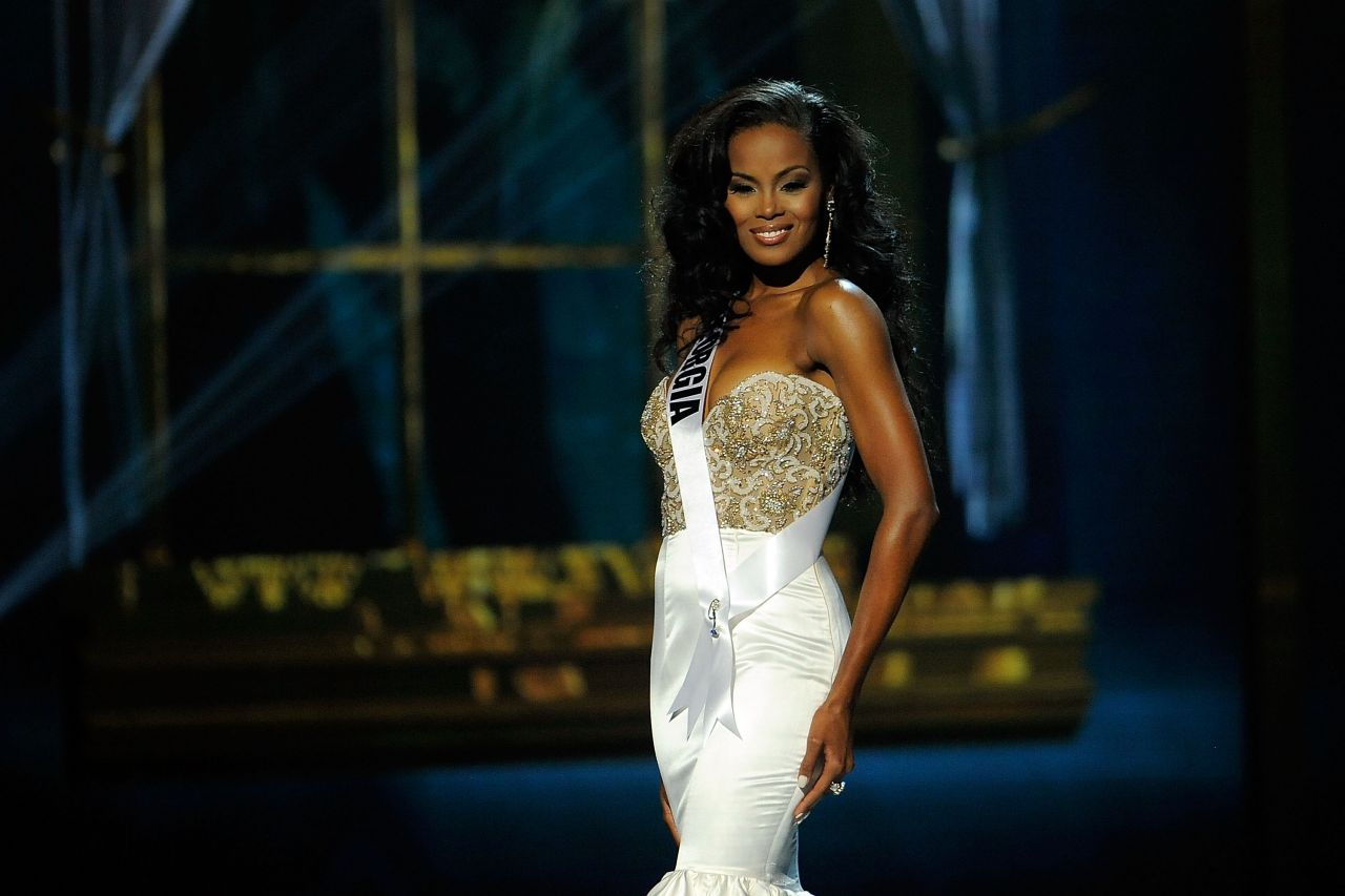 Tiana Griggs (Georgia) - Miss USA Preliminary Competition - June 2014