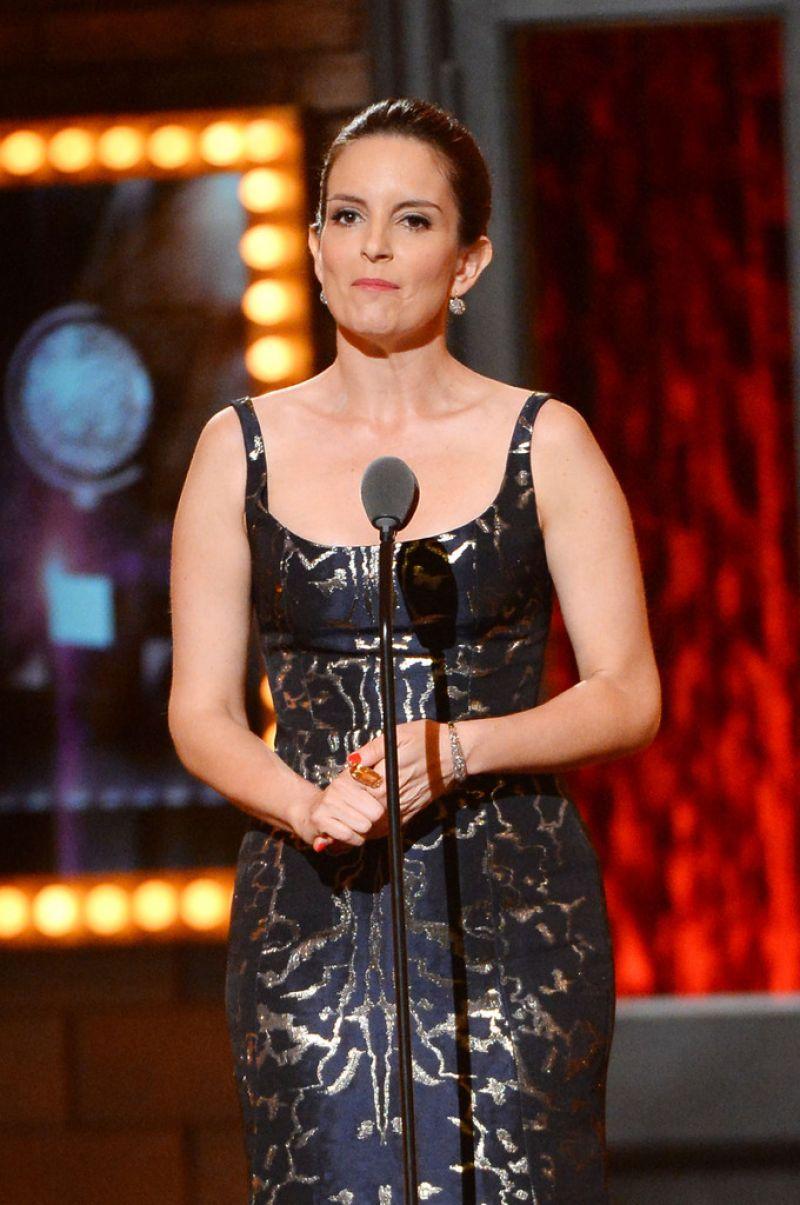 Tina Fey 2014 Tony Awards In New York City