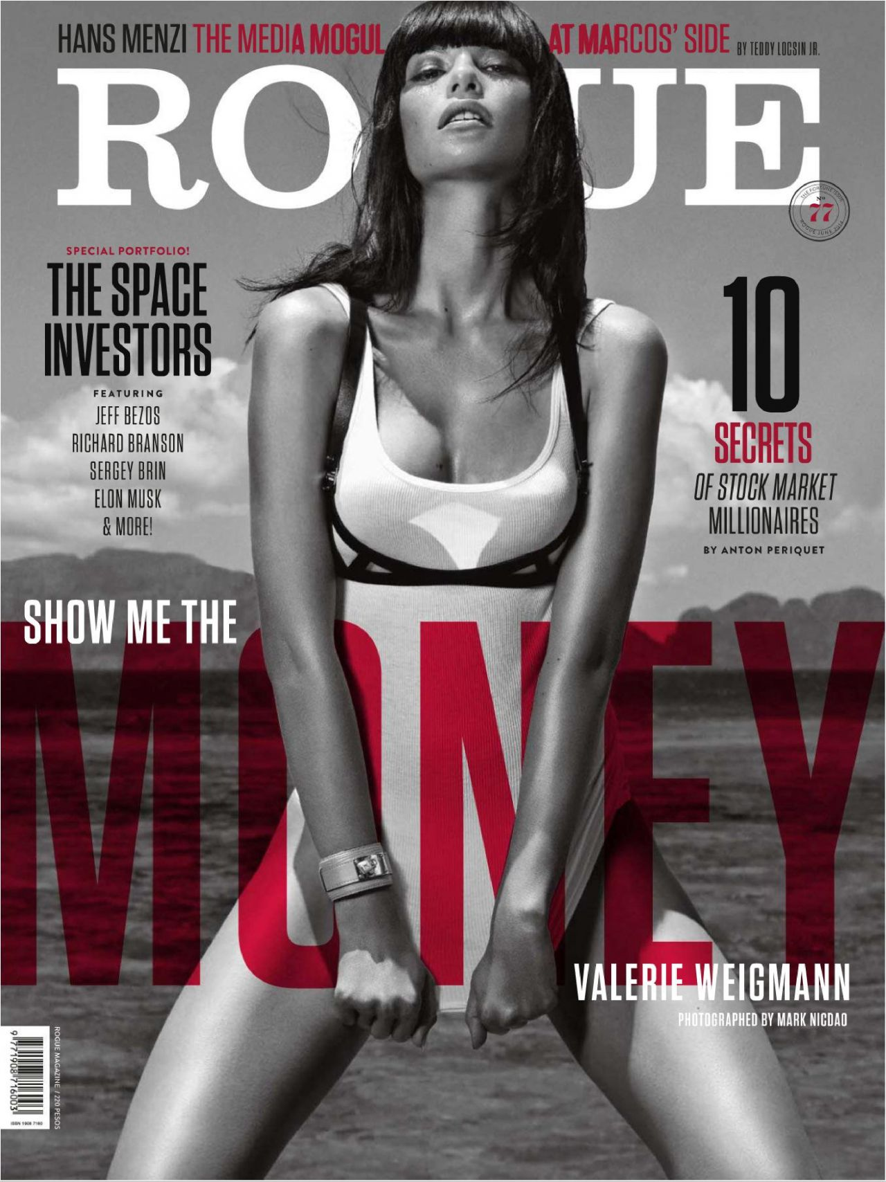 Valerie Weigmann - Rogue Magazine (Philippines) June 2014 Issue