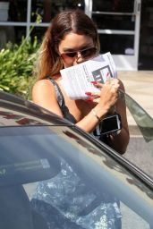 Vanessa Hudgens - Aaron Brothers in Sherman Oaks - June 2014