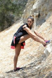Vanessa Hudgens Hiking in Los Angeles - June 2014