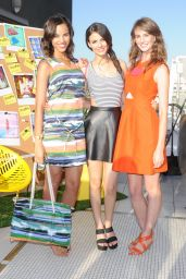 Victoria Justice at Kate Spade Saturday Summer Solstice Party – June 2014