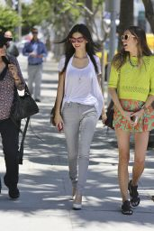 Victoria Justice Casual Style - Out in Beverly Hills - May 2014