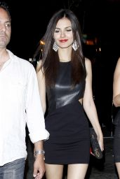Victoria Justice Night Out Style - 1OAK in West Hollywood - May 2014