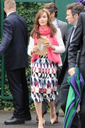 Victoria Pendleton - 2014 Wimbledon Championships – Day six