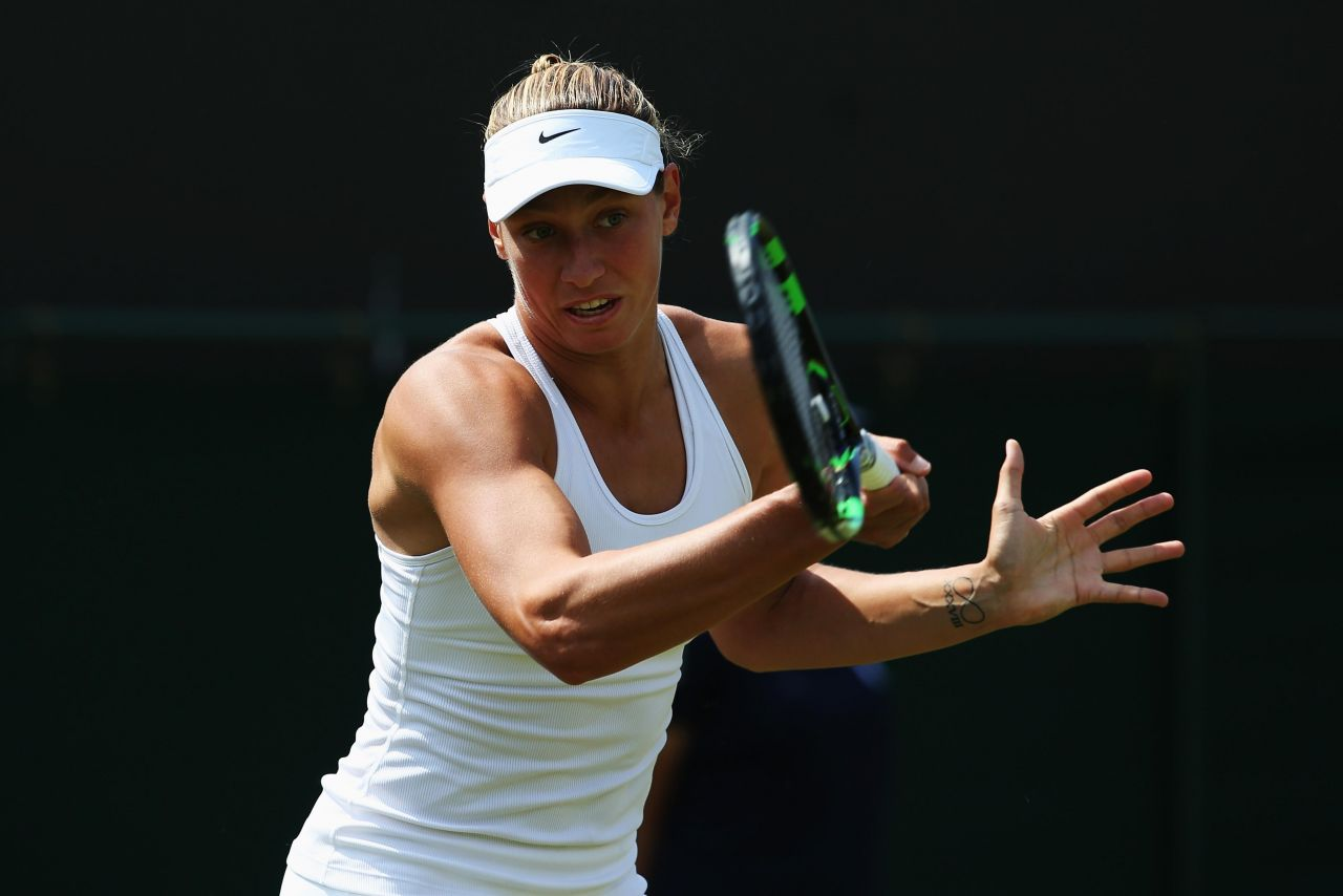 Yanina Wickmayer – Wimbledon Tennis Championships 2014 – 1st Round