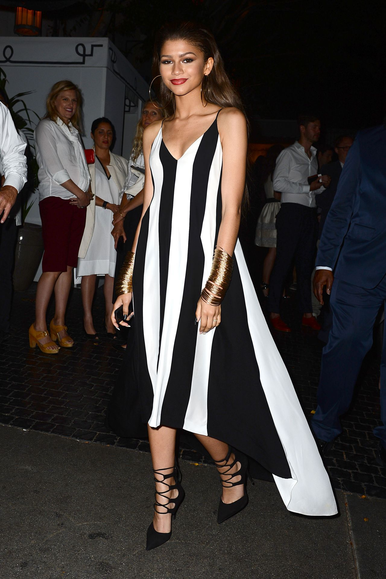 Zendaya Coleman at MaxMara & W Magazine Women In Film Cocktail Party in Los Angeles