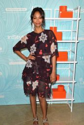 Zoe Saldana – 2014 'Step Up' Inspiration Awards in Beverly Hills