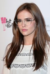 Zoey Deutch - 10th Anniversary What A Pair! Benefit Concert in Beverly Hills - May 2014