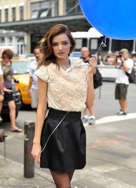 Miranda Kerr (Model) Photoshoot in New York City - June 2014