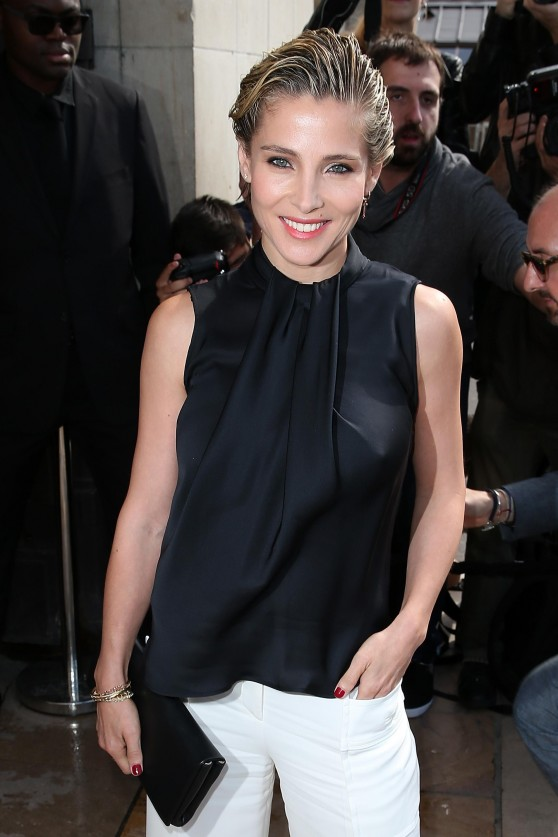 Elsa Pataky - Giorgio Armani Prive Fashion Show - Paris Fashion Week – July 2014