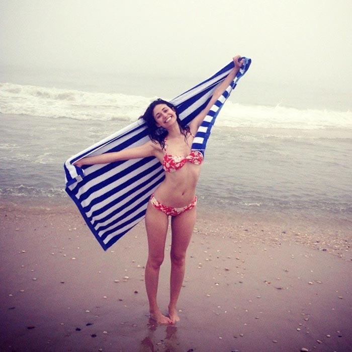 Emily Rossum Bikini