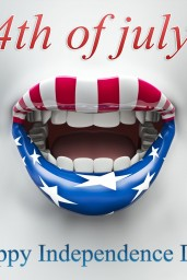 Fourth-of-July-USA-lips