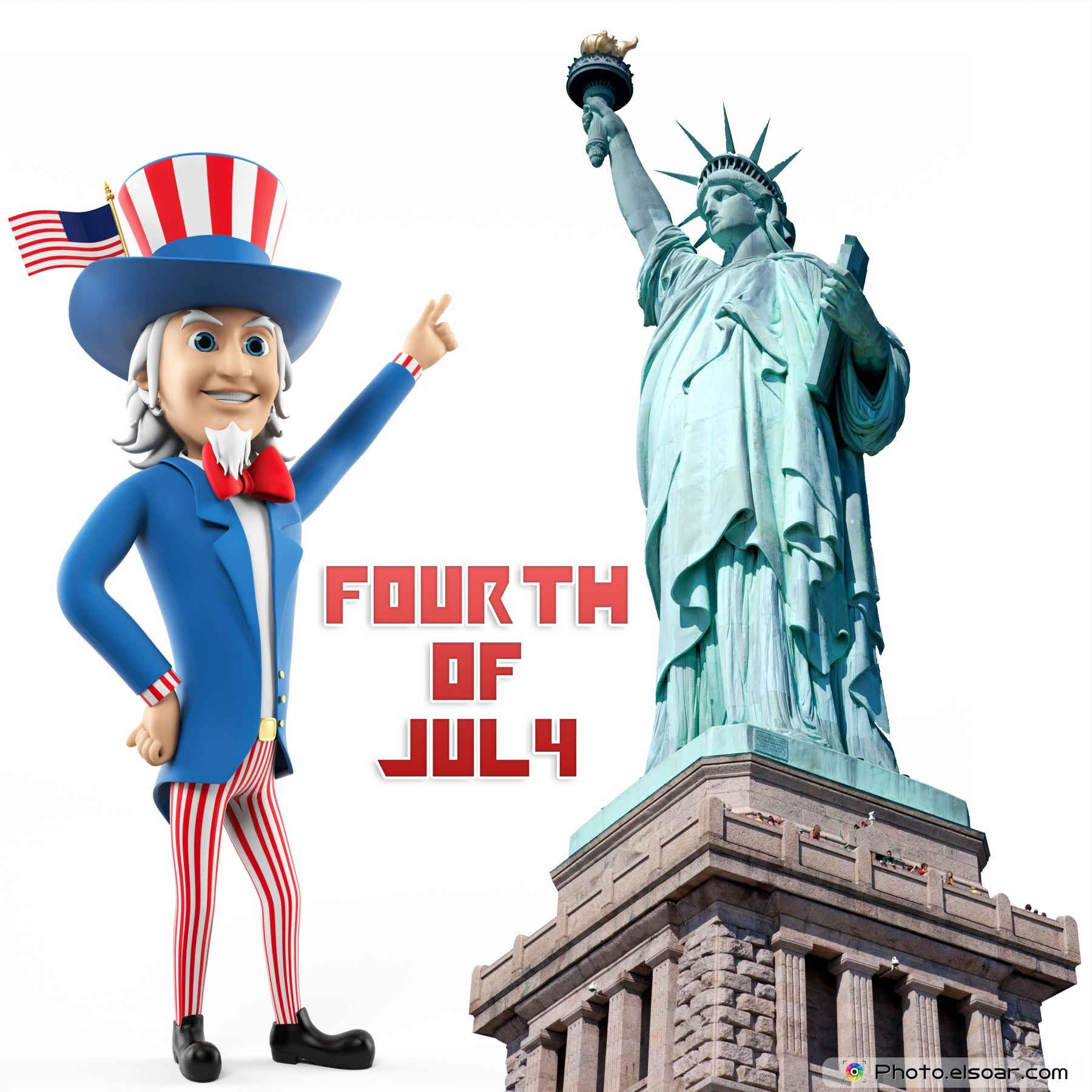Happy Fourth Of July Independence Day In Usa