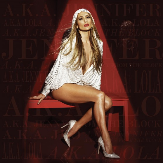 Jennifer Lopez Leggy and Hot for A.K.A. Album