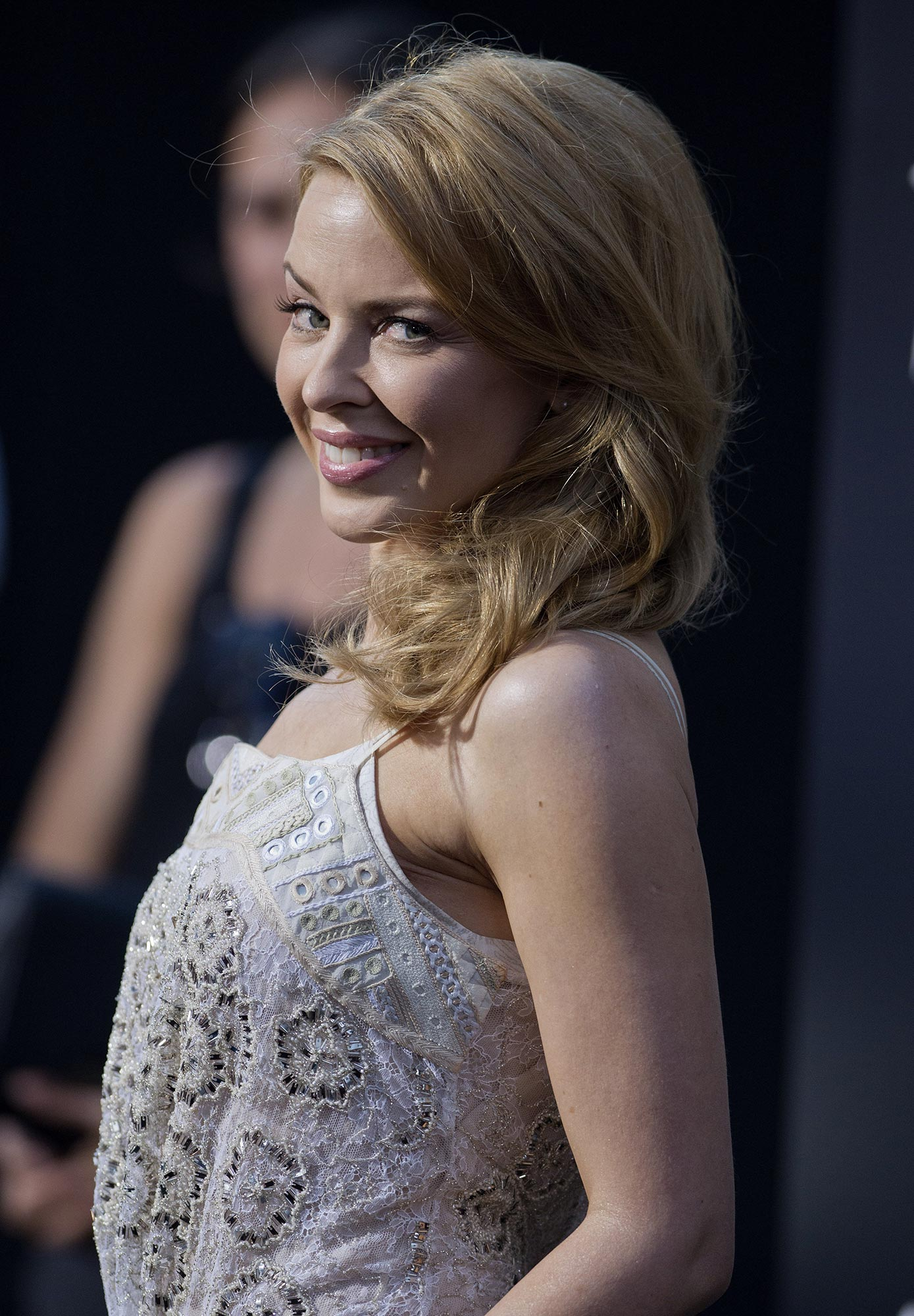 Kylie Minogue Gives Superfan Pricelesssurprises As She: 'Hercules' Premiere In Los Angeles