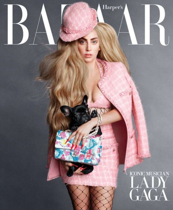 Lady Gaga – HARPER'S BAZAAR Magazine (US) September 2014 Issue