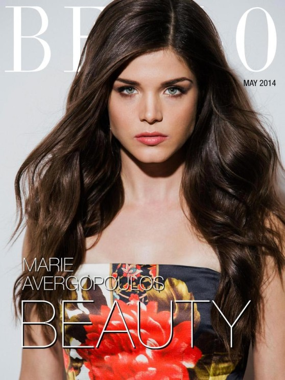 Marie Avgeropoulos - Bello Magazine May 2014 Issue
