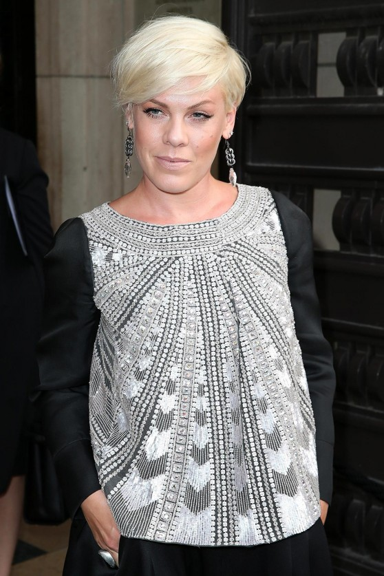 Pink - Giorgio Armani Prive Fashion Show During Paris Fashion Week – July 2014