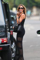 Abbey Clancy Running Errands in London - July 2014
