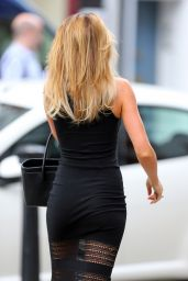 Abbey Clancy Running Errands in London - July 2014
