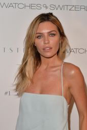 Abbey Clancy – Watches Of Switzerland Flagship Showroom Launch in London