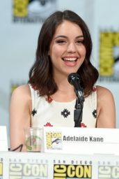 Adelaide Kane – CBS Scorpion Panel at Comic-Con in San Diego – July 2014