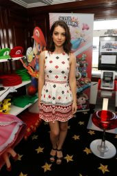 Adelaide Kane - Nintendo Lounge on the TV Guide Magazine Yacht at Comic-Con 2014 in San Diego