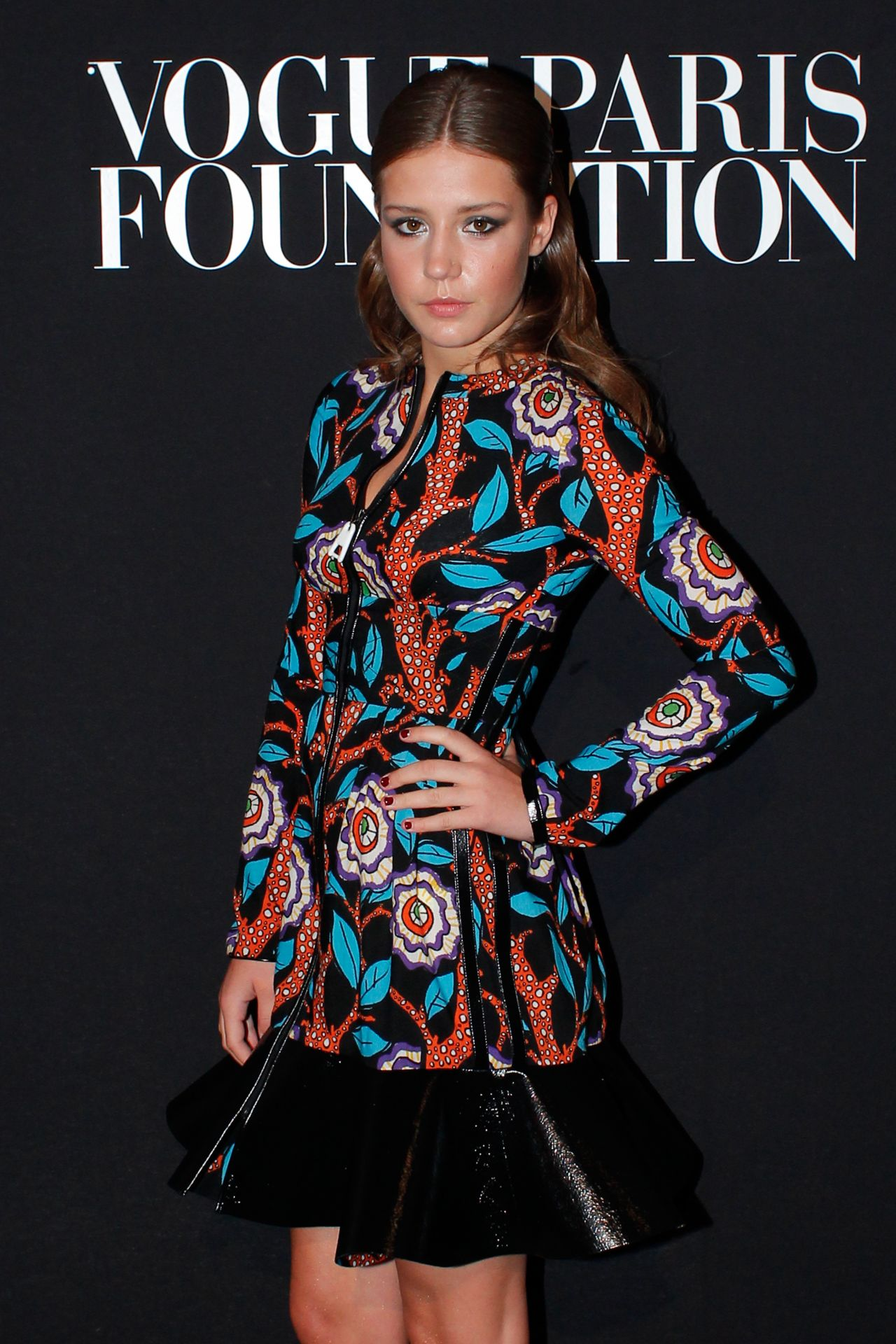 Adele Exarchopoulos - Vogue Foundation Gala - Paris Fashion Week – July 2014