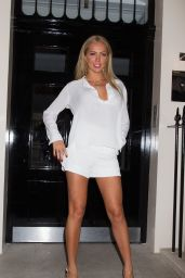 Aisleyne Horgan-Wallace at Fake Bake Summer Party 2014