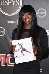 Aja Evans – ESPN Presents Body At ESPYs 2014